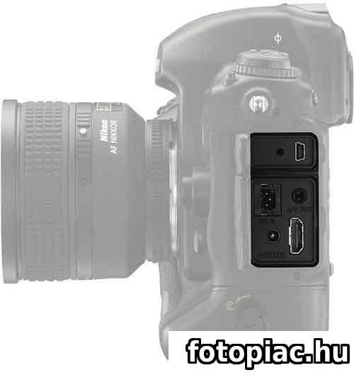A digitális fényképezőgép könnyen összekapcsolható más eszközökkel