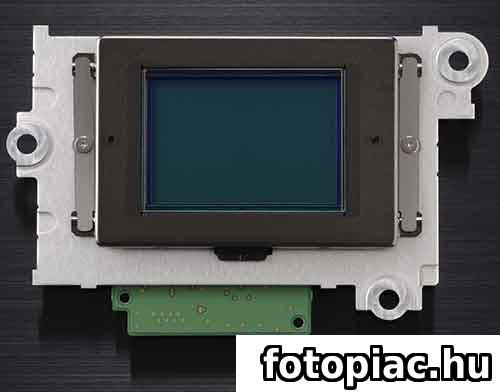 Egy digitális fényképezőgép képérzékelője