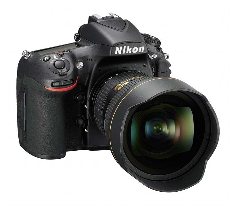 A profik tartalék fényképezőgépe lehet az új Nikon D810A digitális masina