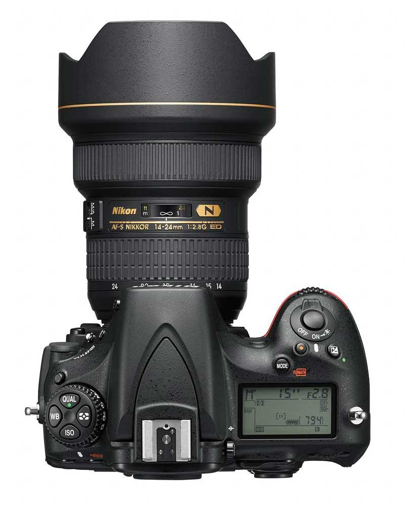 Szuperfelbontással és érzékenységgel érkezik a Nikon D810A digitális fényképezőgép