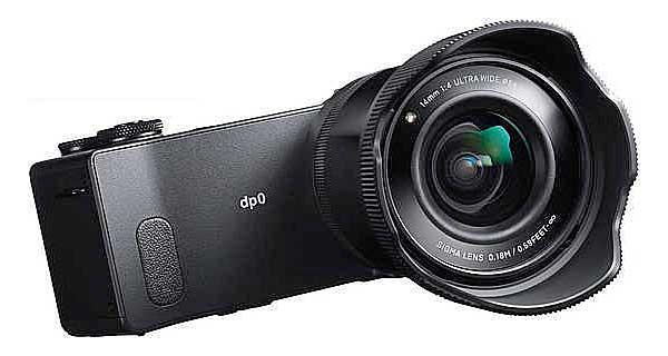 Sigma dp0 Quattro fényképezőgép